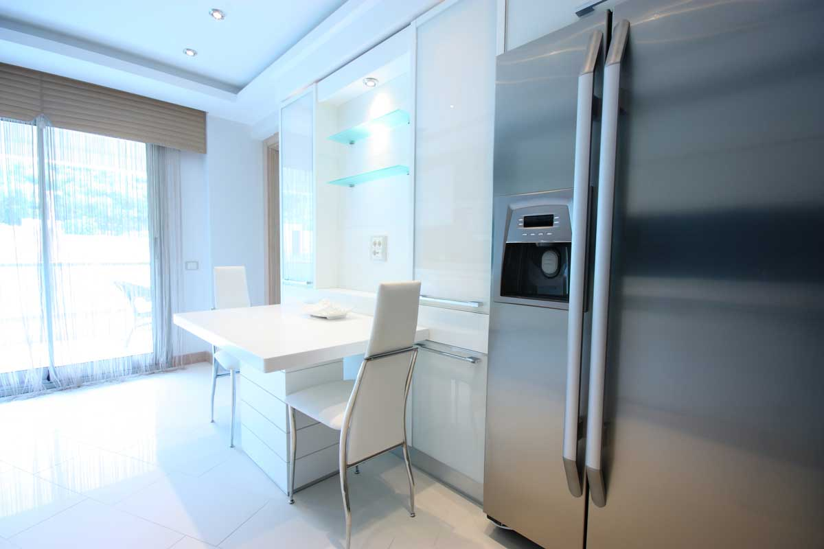 A freezer in the modern kitchen, Where Should I Put My Freezer? [10 Locations to Consider]