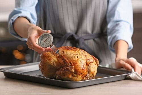 Can You Leave A Meat Thermometer In The Meat While It's Cooking?