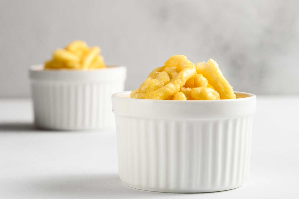 Two ramekin with chak chak on a white table, What Is A Ramekin? [Pictures, Shopping Guide & Alternatives]