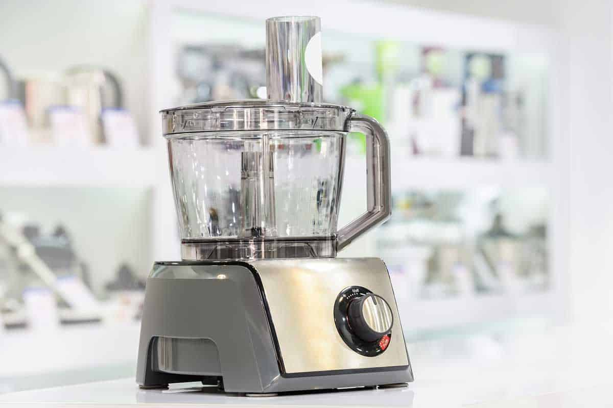 Close up shot of an electric food processor, How Much Does A Food Processor Cost?