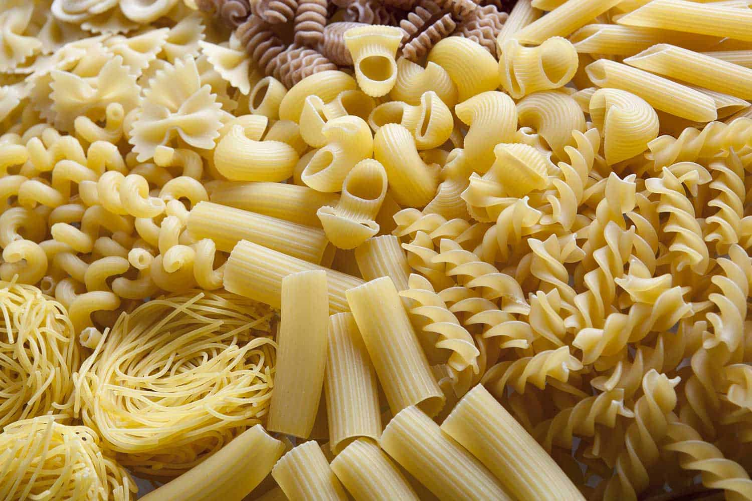 Pasta variation on the table