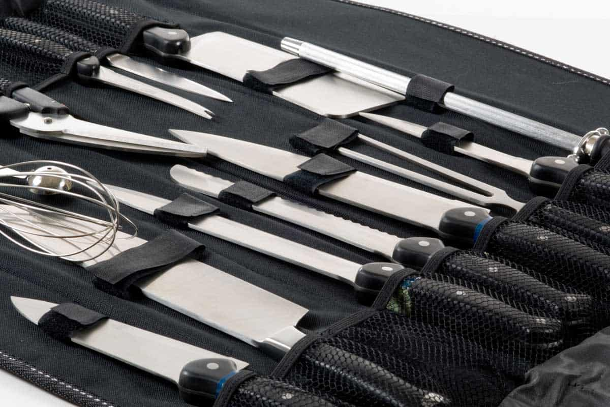 Professional Chef's knife set in black case, 7 Types of Chef Knives You Should Know
