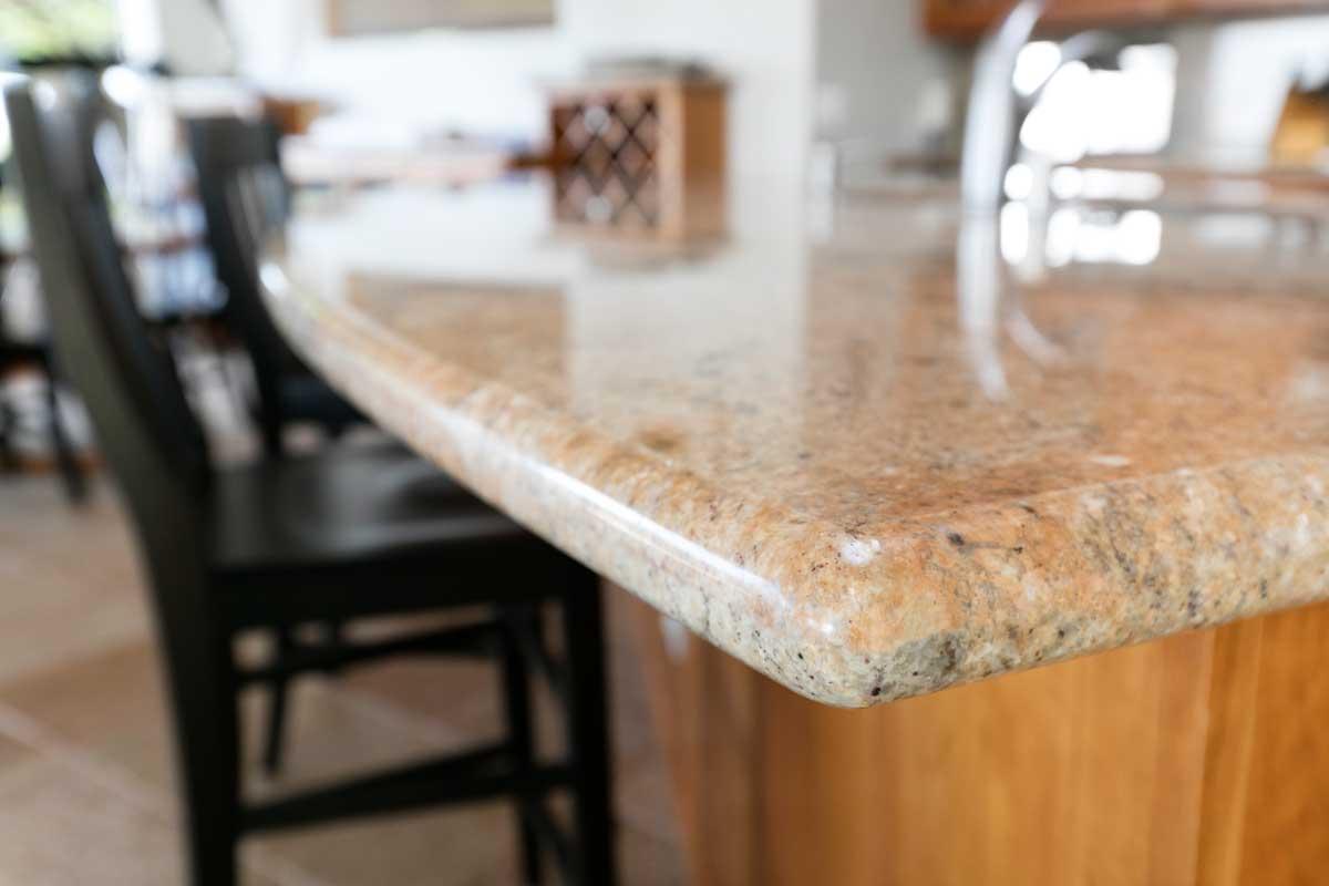 Edge of a granite countertop, Granite Countertop Edge Options - Which To Choose?