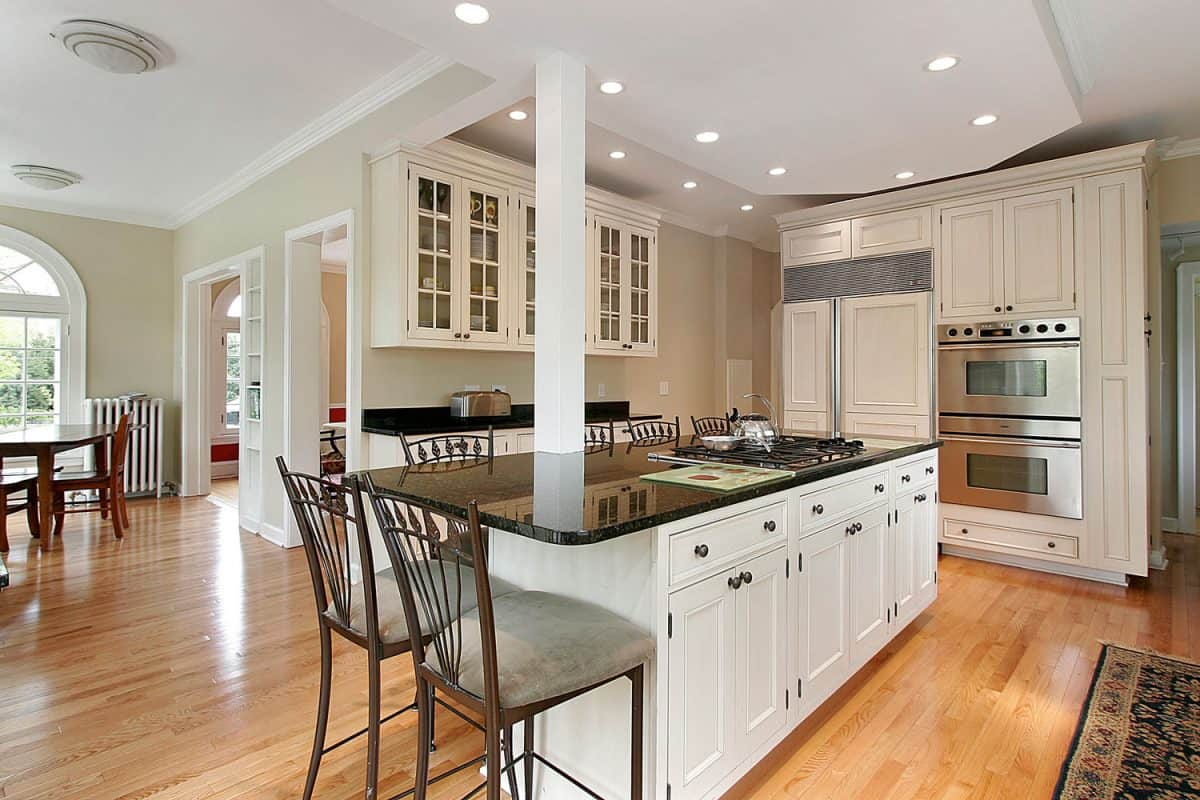 Kitchen in new construction home, 12 Types of Kitchen Islands