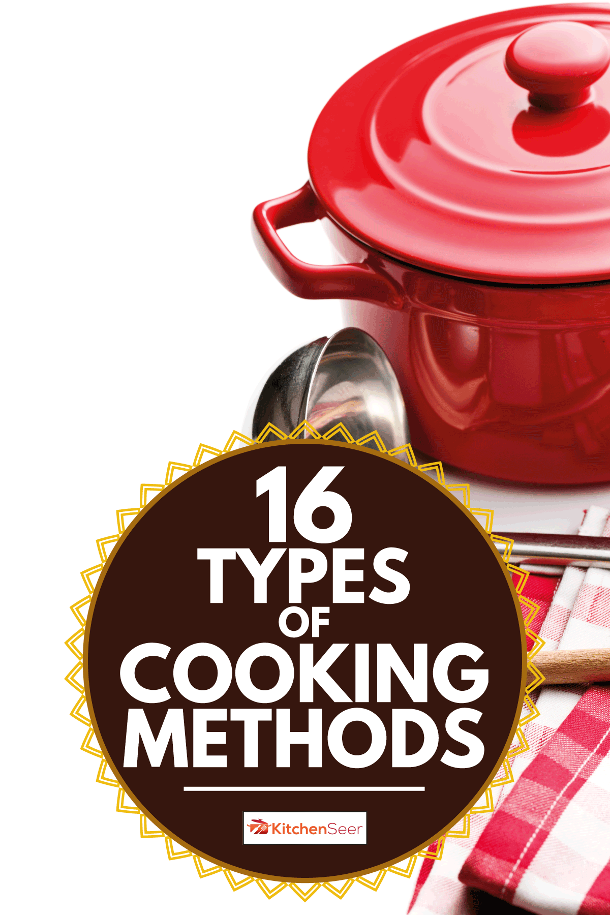 Kitchenware on white background, 16 Types Of Cooking Methods