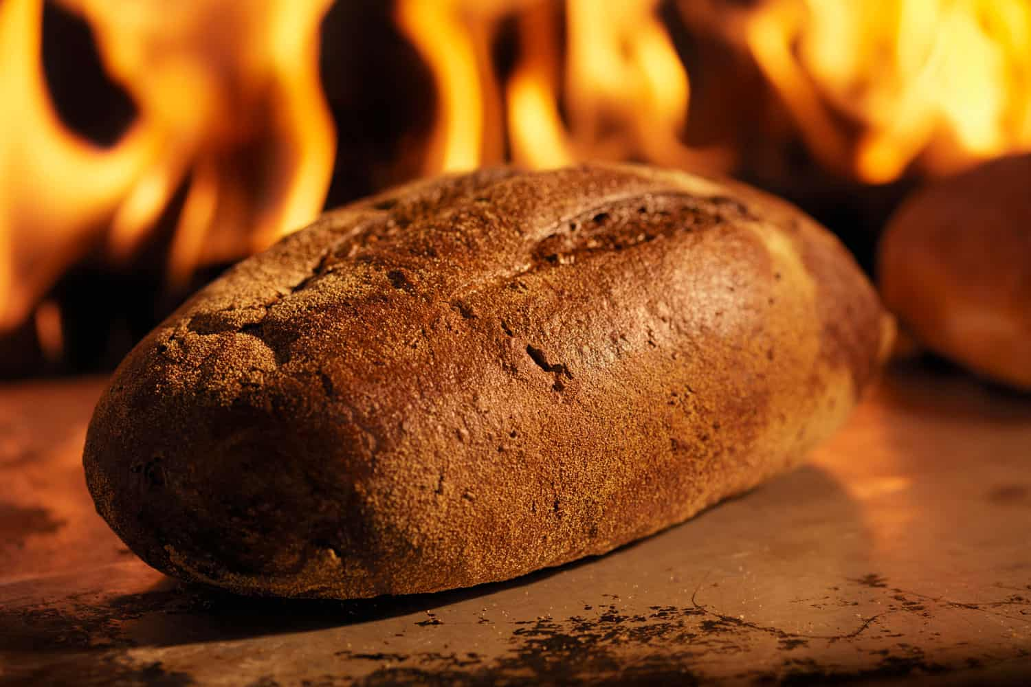 Pumpernickel Bread in a Wood Burning oven, 10 Bread Recipes For Mixer With Dough Hook