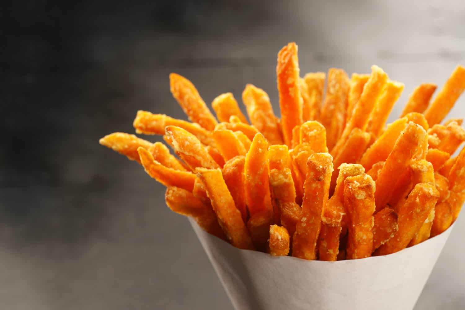 Delicious deep fried french fries