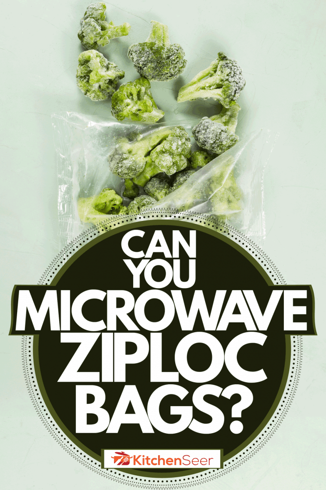A Ziploc bag with small sausages on a black background, Can You Microwave Ziploc Bags?