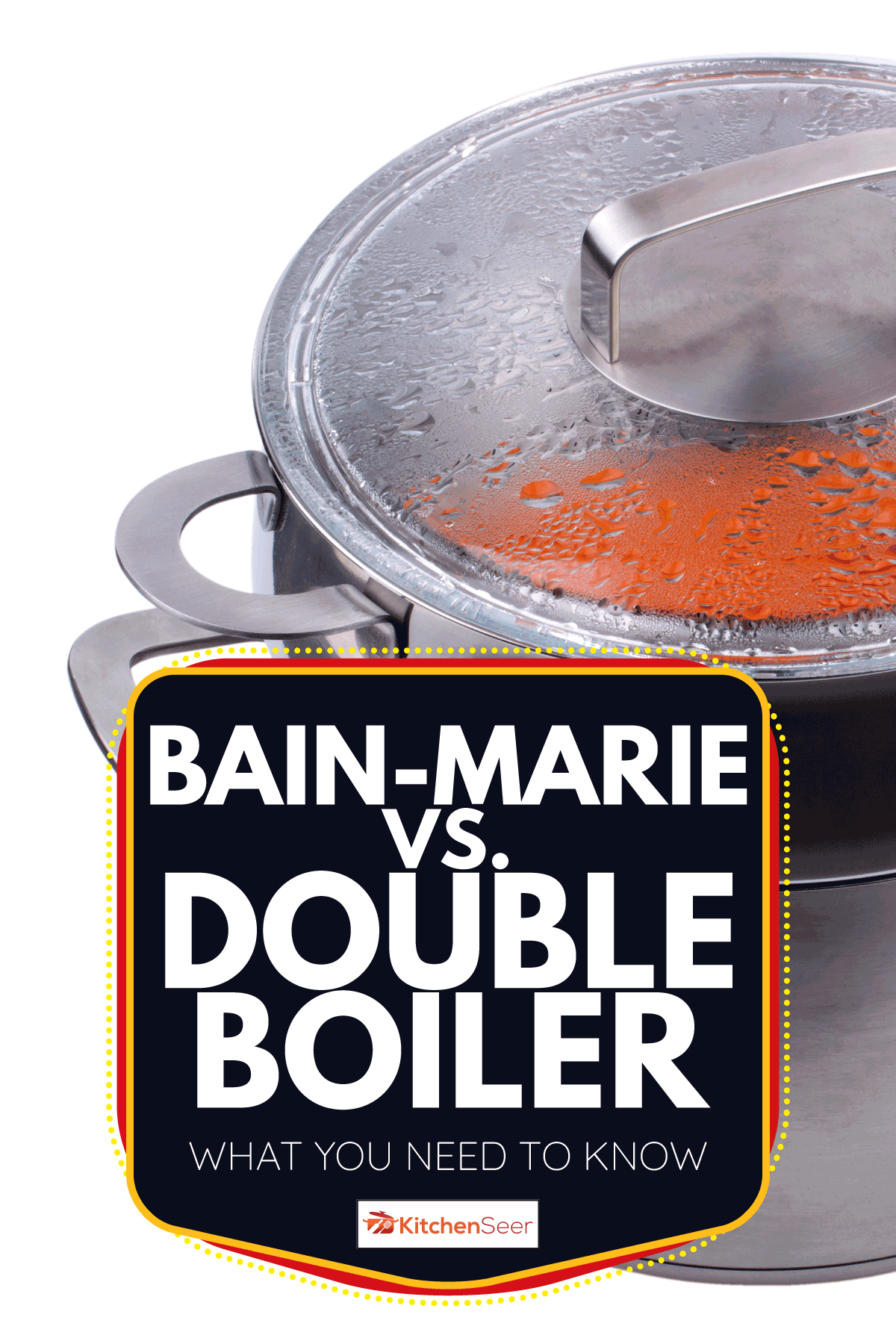 Double boiler for the gas cooker. Bain-Marie Vs. Double Boiler What You Need To Know