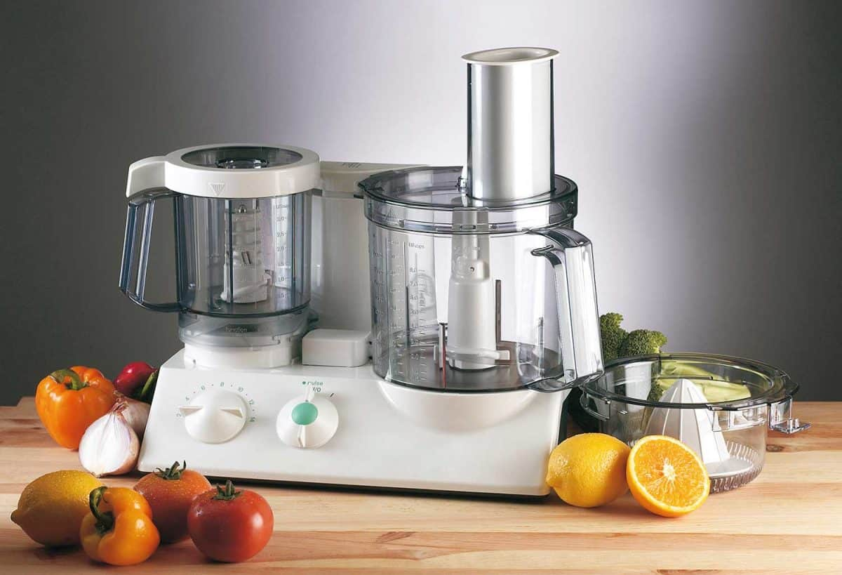 Food processor mixer