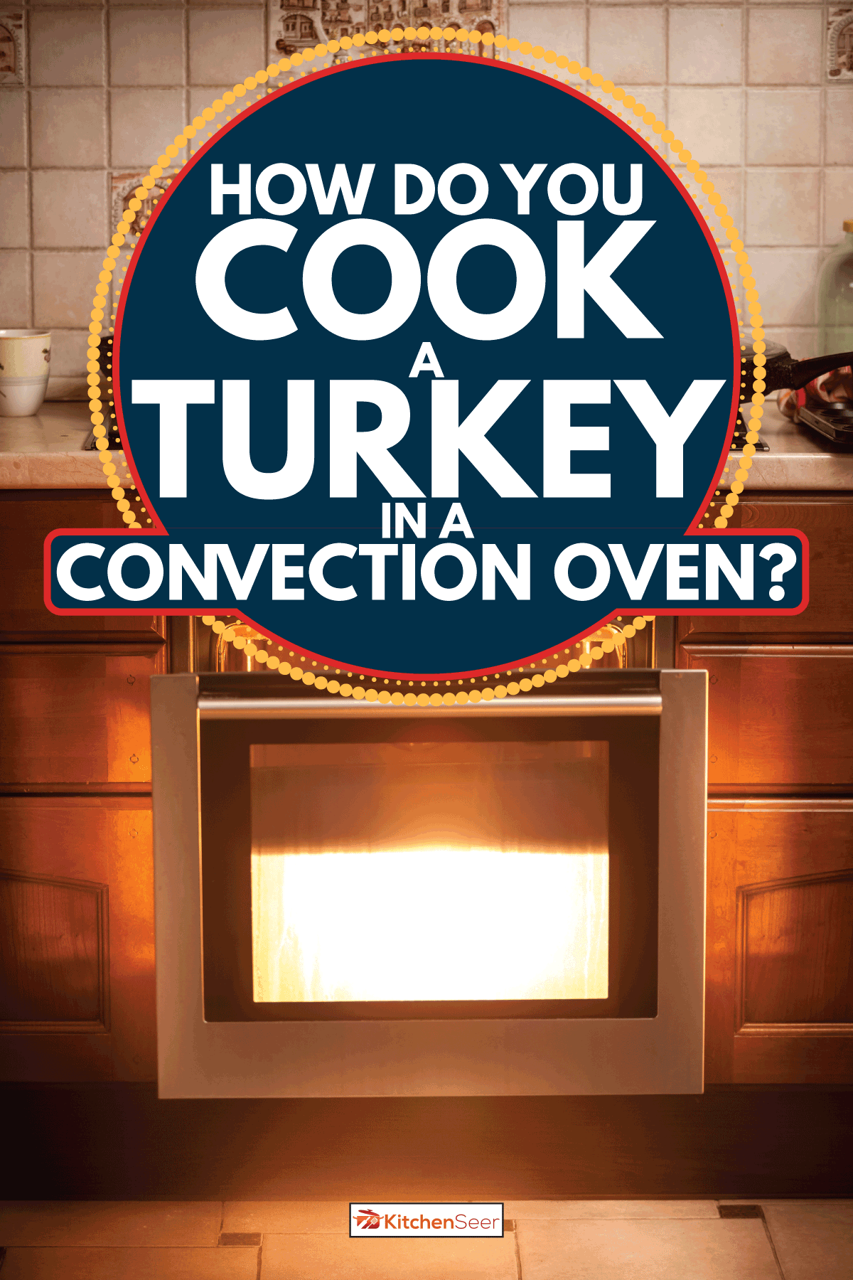 Hot oven and pan boiling on stove at kitchen. How Do You Cook A Turkey In A Convection Oven