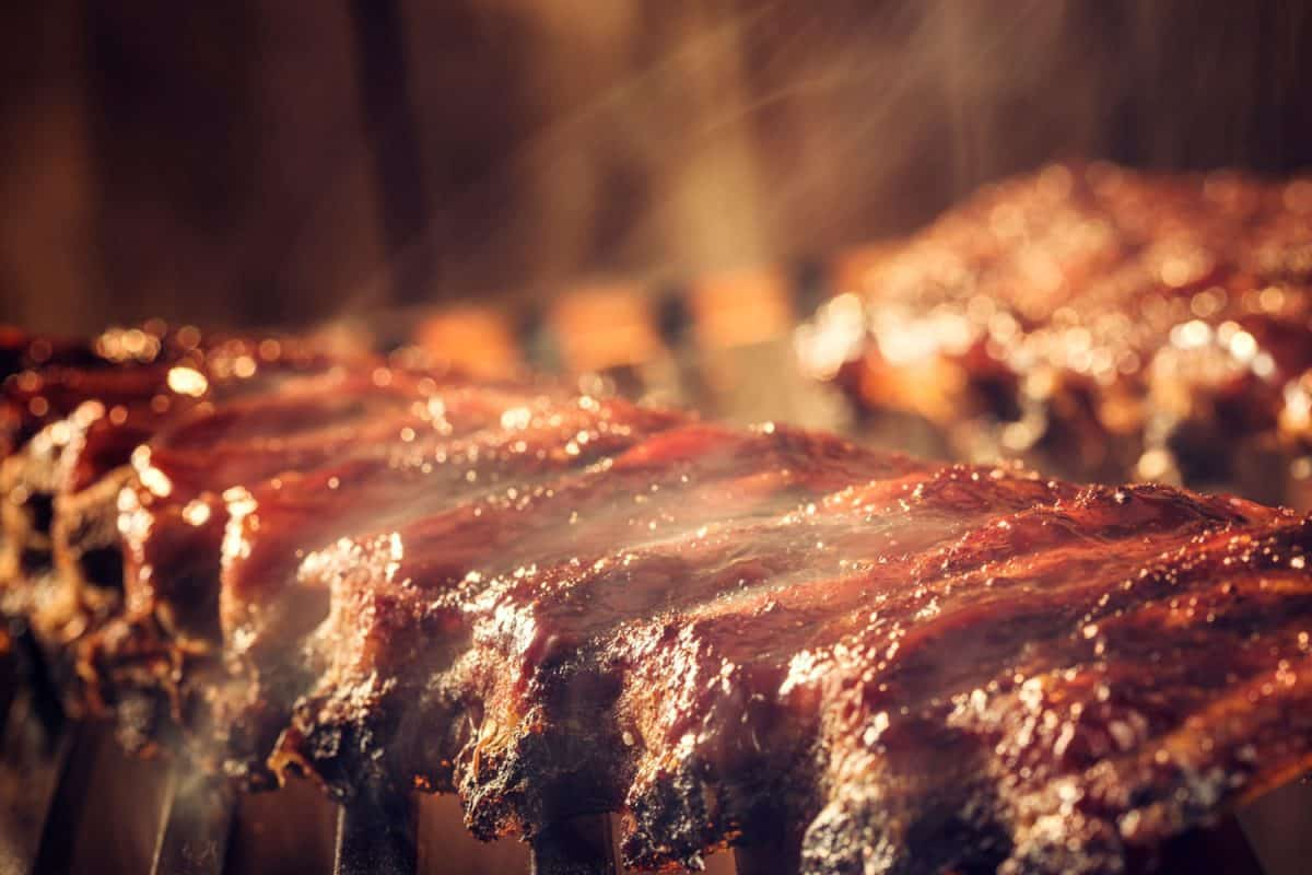 Marinated BBQ Pork Ribs on Barbecue Grill, What Desserts Go With BBQ Ribs?