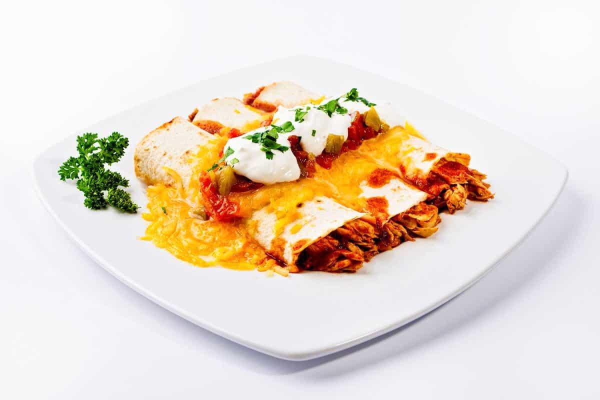 Fresh enchilada