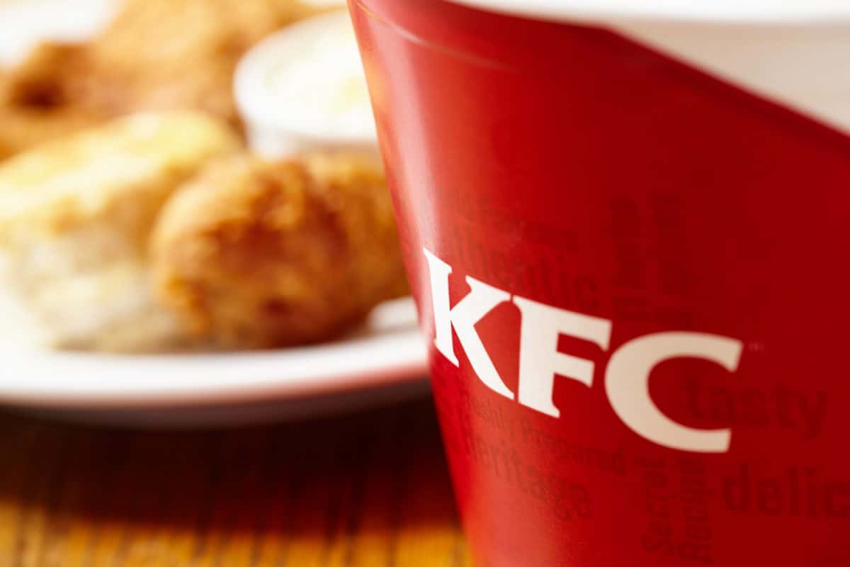 KFC was founded by Harland Sanders and is headquartered in Louisville, Kentucky, U.S.