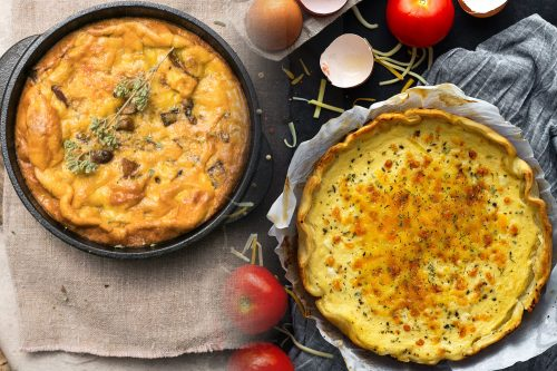 Read more about the article Frittata Vs Quiche – What Are The Differences?