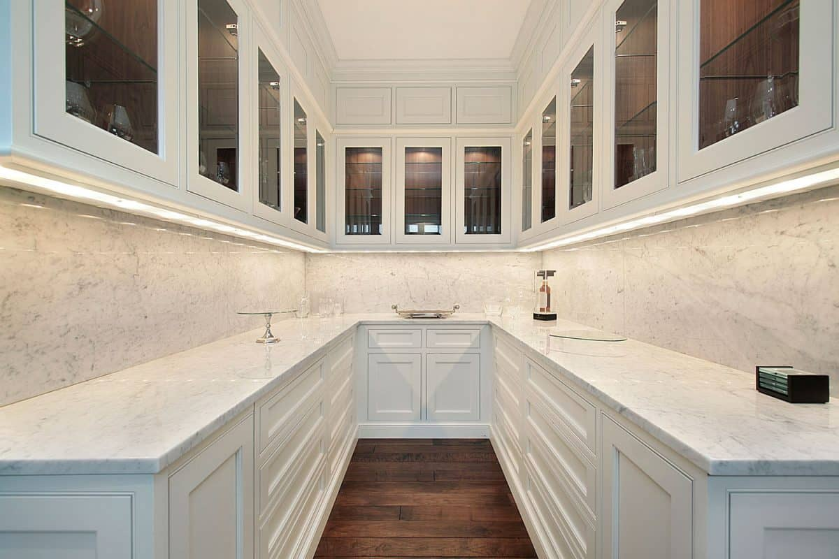 Butler's pantry in luxury home, Does A Pantry Add Value To A Home?