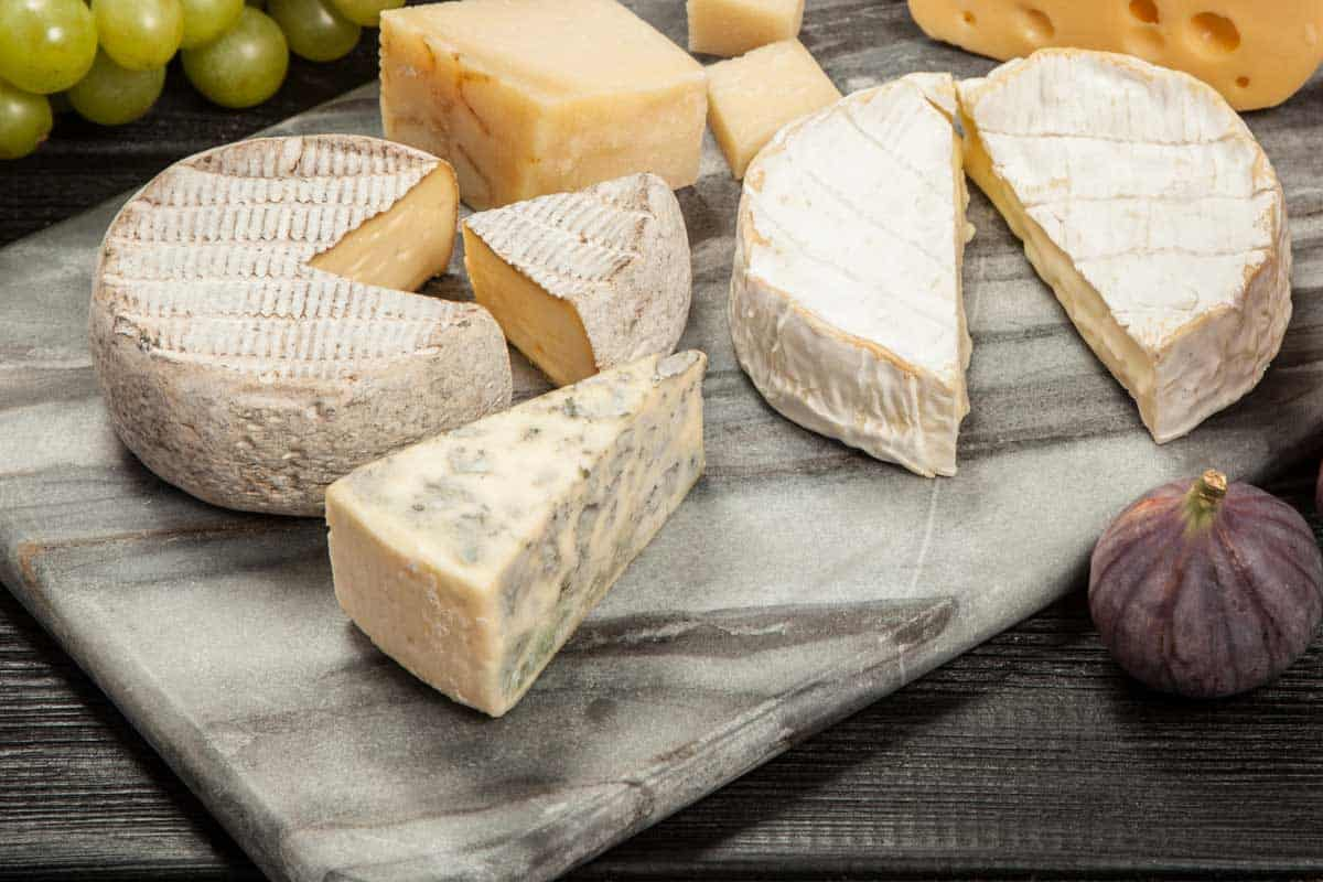 Different cheeses on marble cheese board, Can You Cut On A Marble Cheese Board?
