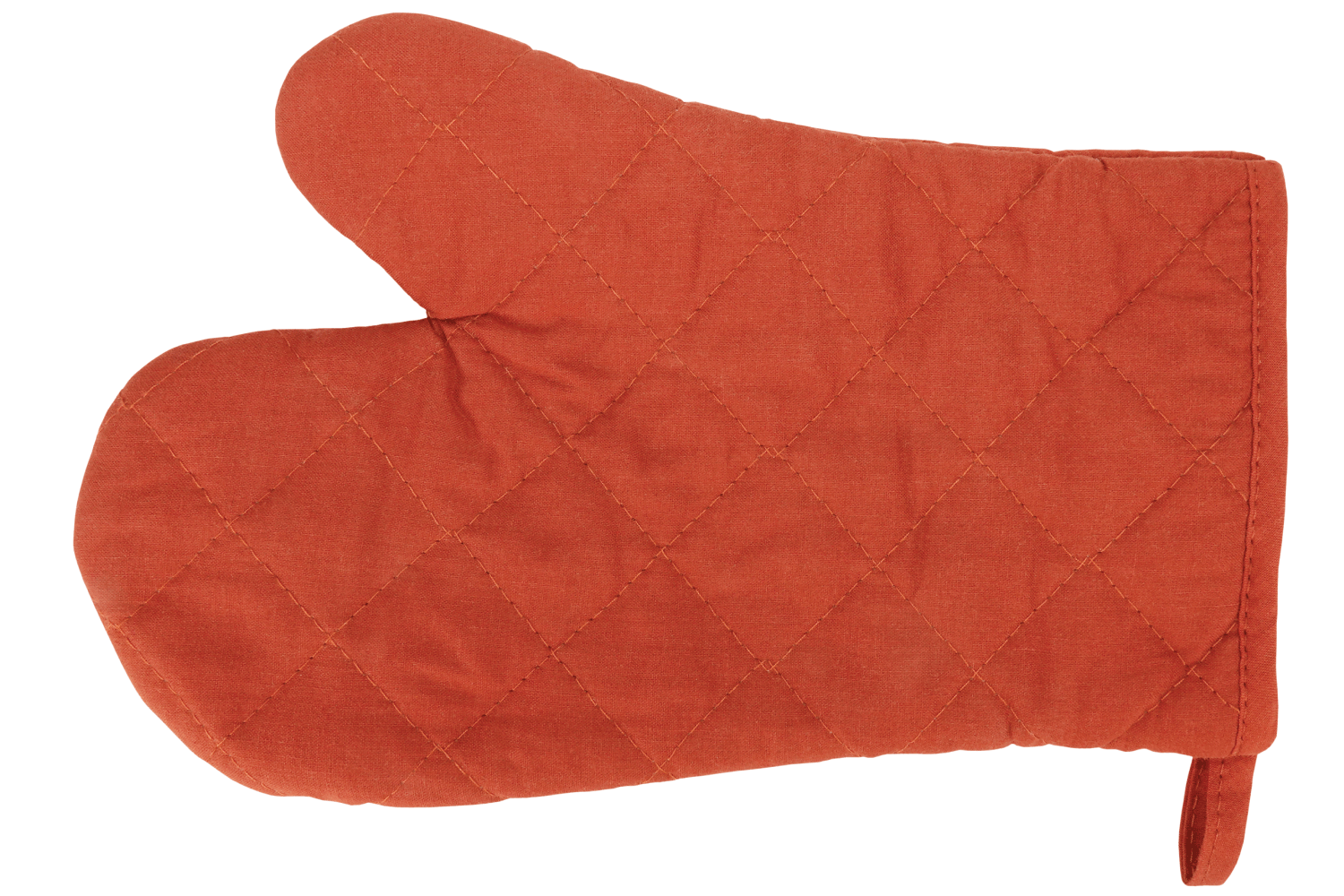 classic brown oven glove.