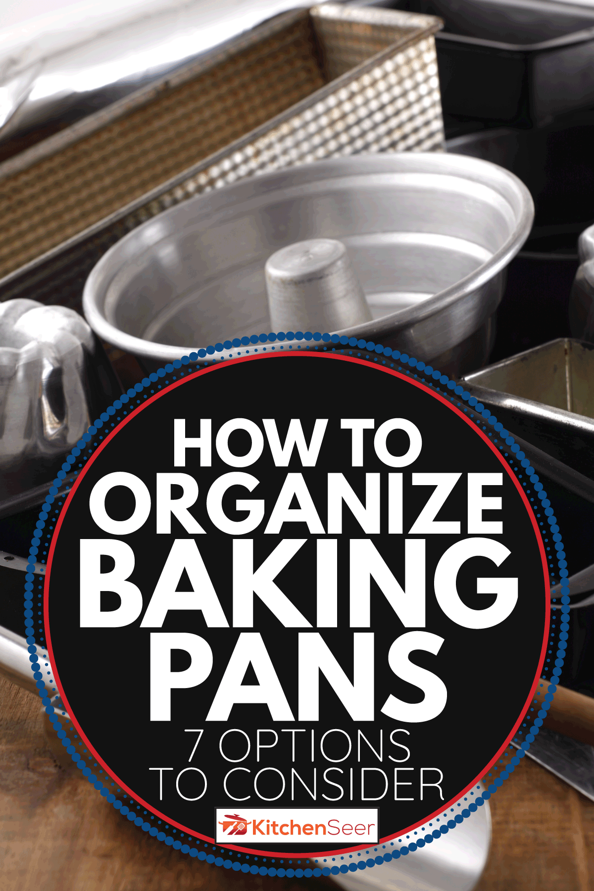 group of utensils for cooking. How To Organize Baking Pans [7 Options To Consider]
