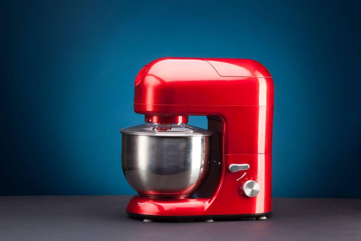 An up close photo of a kitchenAid food processor, Are KitchenAid Mixer Bowls Interchangeable?