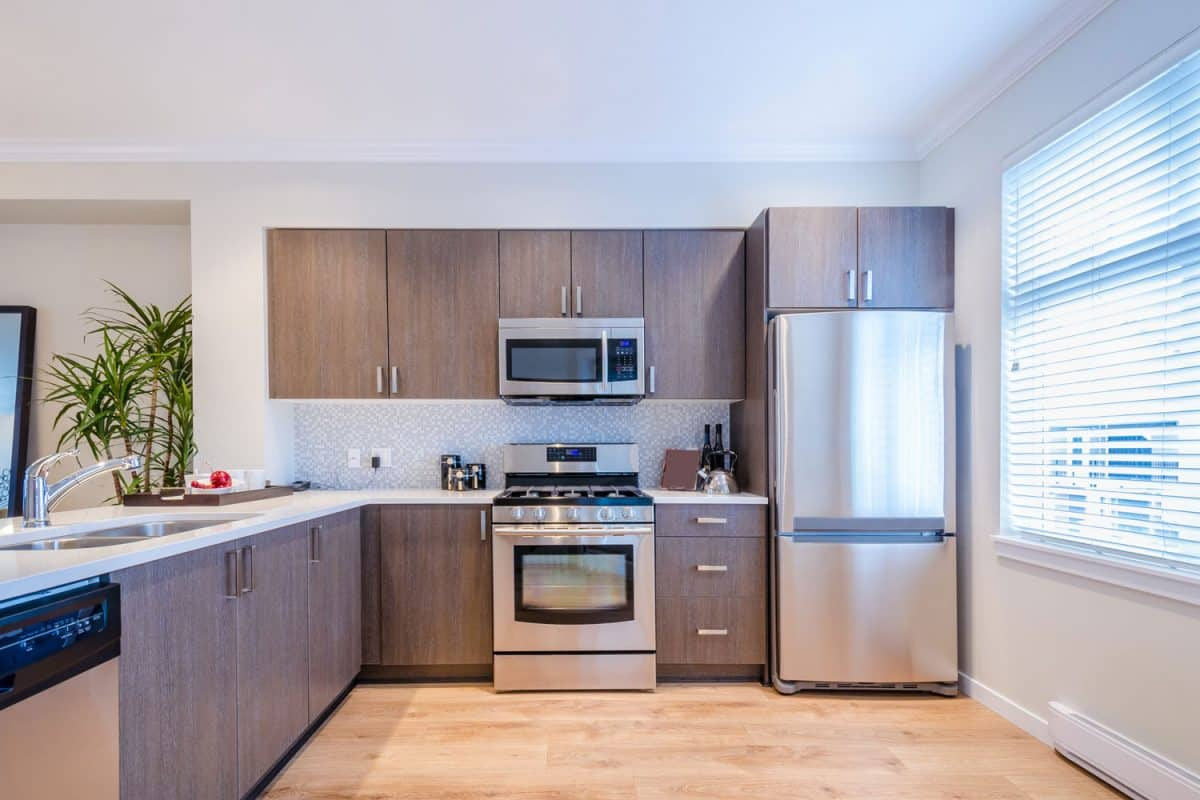 Should Kitchen Floor Grout Be Sealed?, Modern kitchen in luxury house