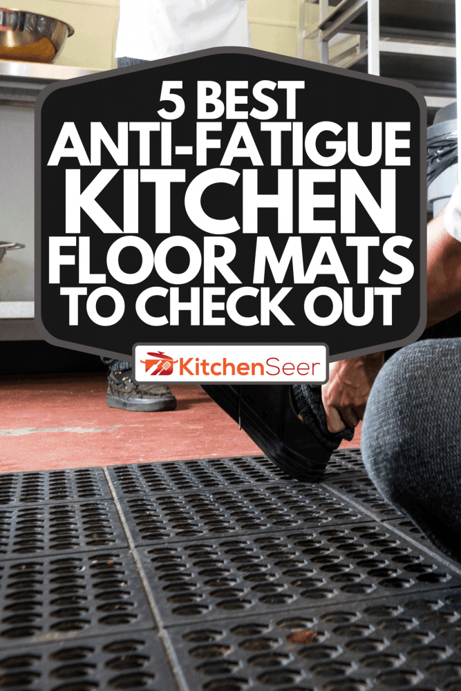 Man trips on a mat in a commercial kitchen, 5 Best Anti-Fatigue Kitchen Floor Mats To Check Out