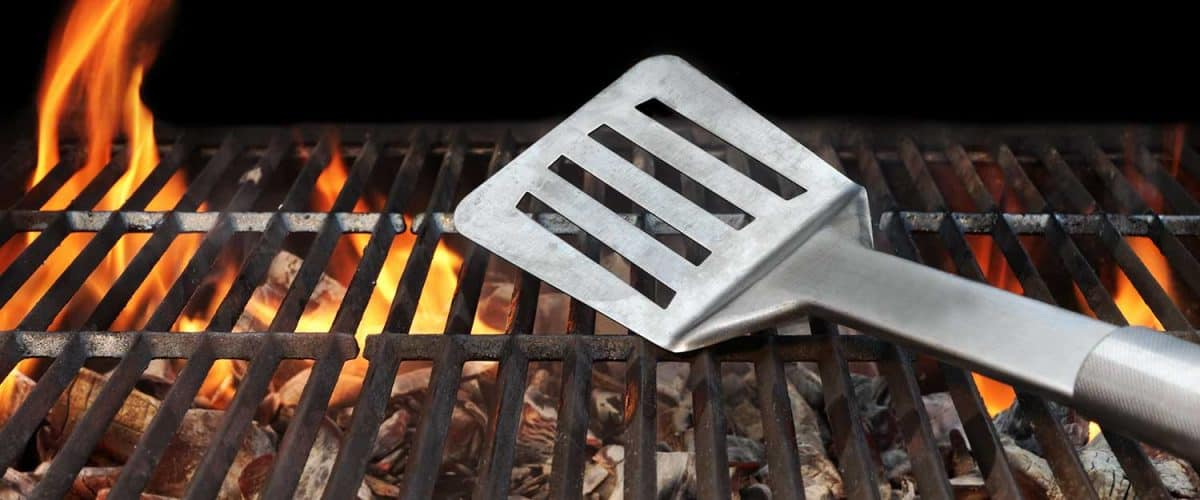 Hot barbecue grill tools