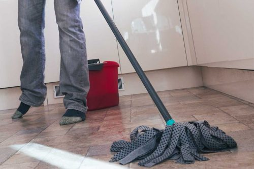 Read more about the article How To Make Kitchen Floor Less Slippery [With 5 Simple Methods]