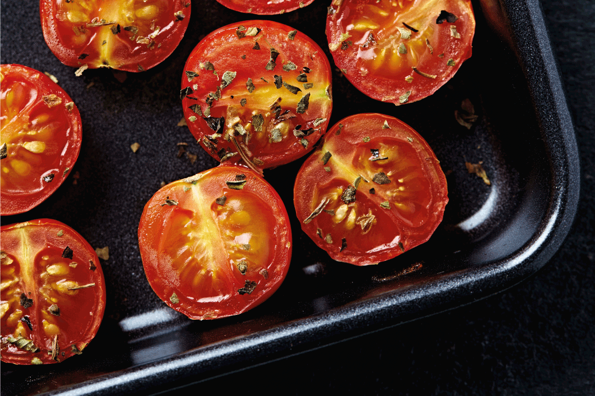 Oven roasted cherry tomatoes. How Long To Roast Tomatoes [A Look At Various Factors & Considerations]