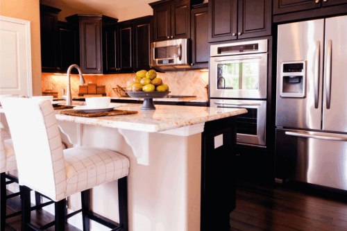 Read more about the article 21 Captivating Kitchens With Dark Cabinets