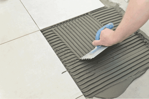 Read more about the article How Long Does it Take to Tile a Kitchen Floor? (Inc. Grout)
