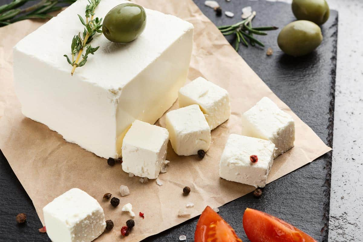 Block of feta cheese, Should Feta Cheese Smell? Or Does It Mean It's Gone Bad?