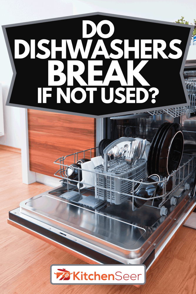 A woman looking at repairman repairing the dishwasher, Do Dishwashers Break If Not Used?