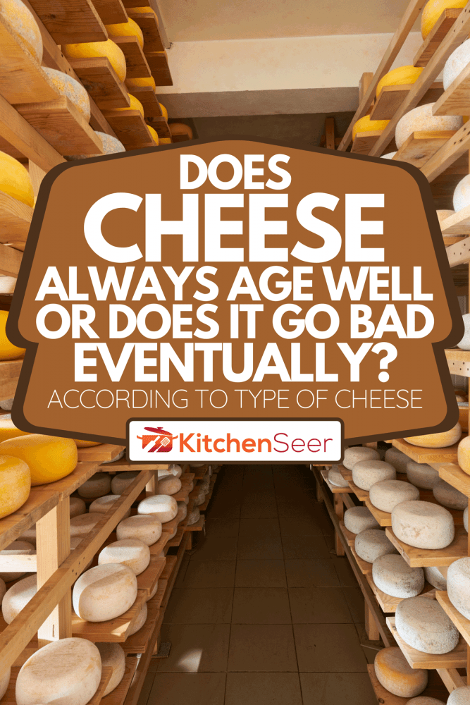 Aging of old cheese in the factory, Does Cheese Always Age Well Or Does It Go Bad Eventually? [According To Type Of Cheese]
