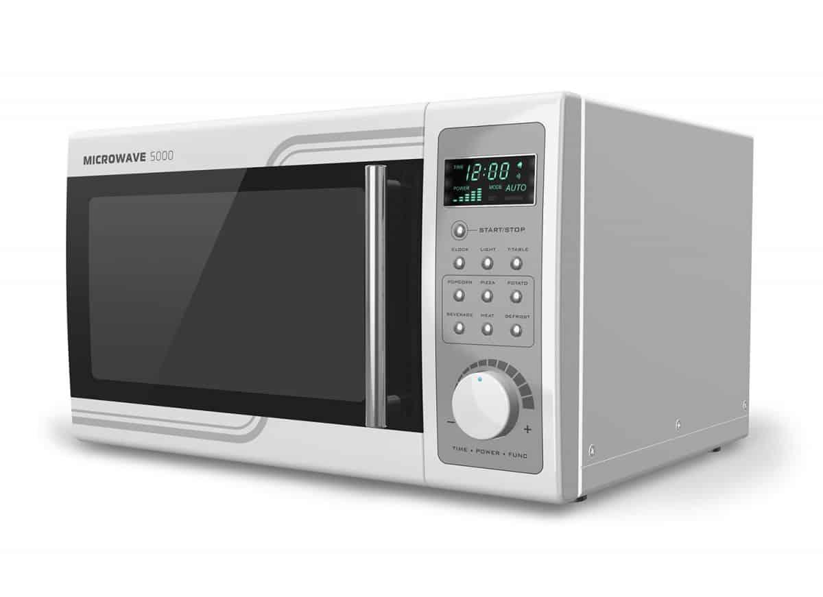 High tech microwave oven