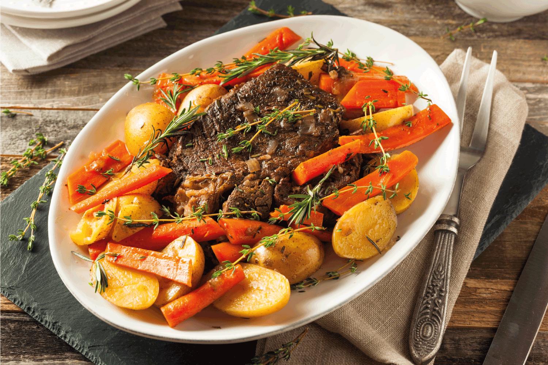 Homemade Slow Cooker Pot Roast, chuck roast