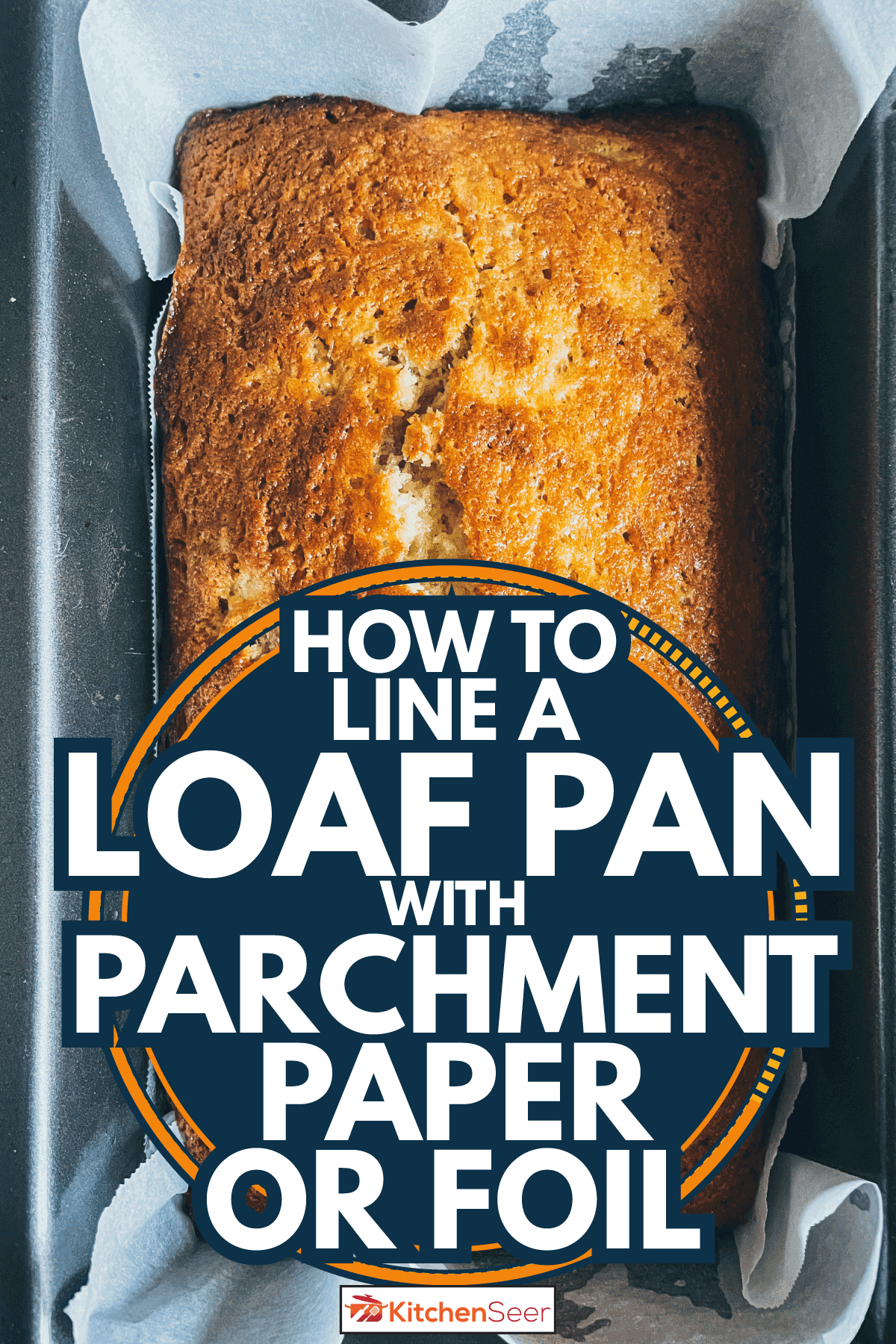 Homemade banana loaf just out from the oven. How To Line A Loaf Pan With Parchment Paper Or Foil