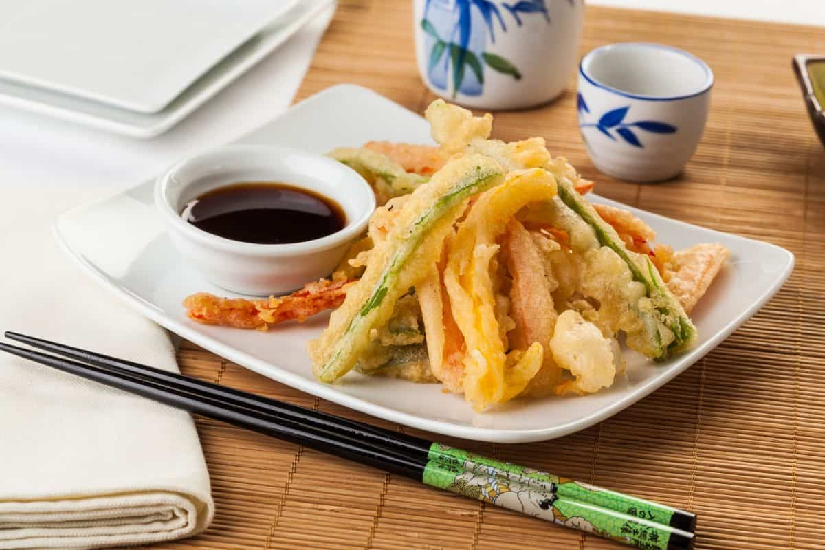 Japanese tempura vegetables fried in a light batter, Does Frying Vegetables Remove Nutrients?