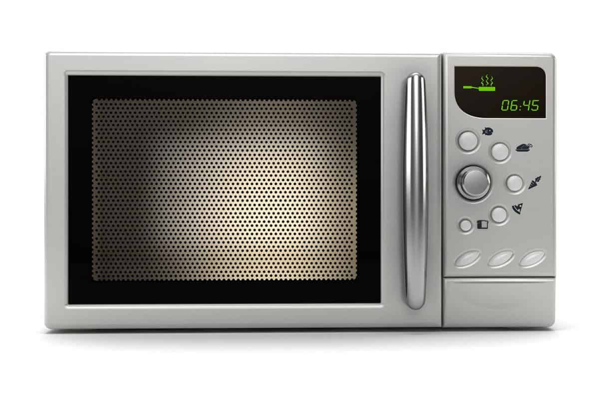 Microwave oven with timer