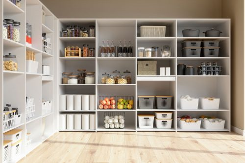 Read more about the article How To Organize A Walk-In Pantry [With 15 Great Ideas!]