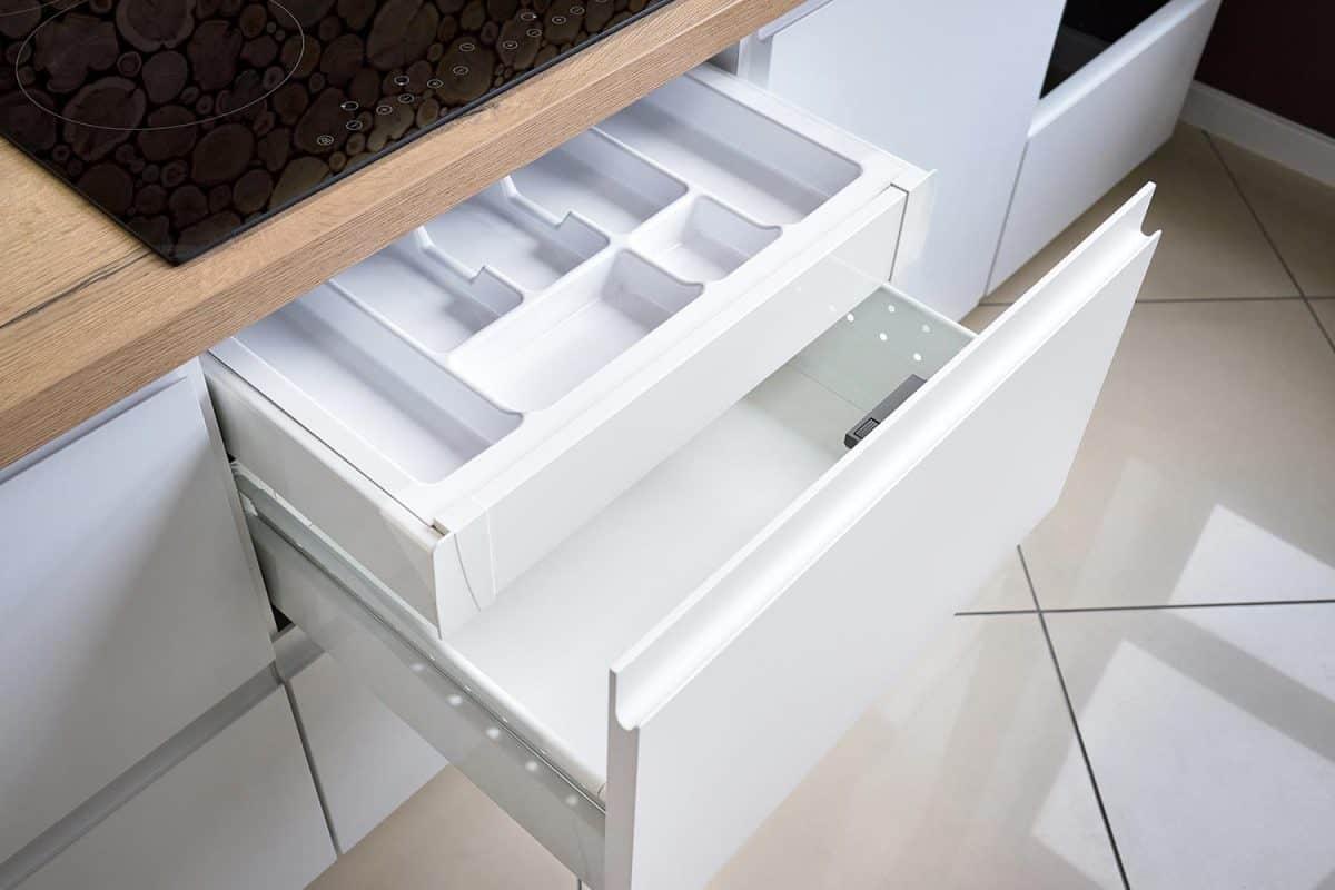 Solution for placing kitchen utensils in modern kitchen