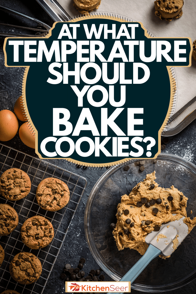 Molding scrumptious chocolate chips in the kitchen, At What Temperature Should You Bake Cookies?
