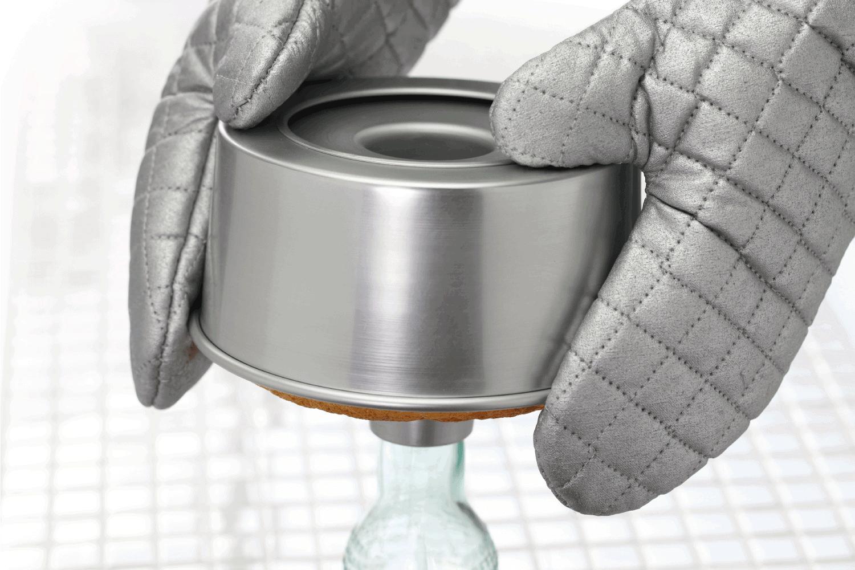 Homemade orange chiffon cake cooking, cooling process. What Types Of Pans For Baking Angel Food Cake