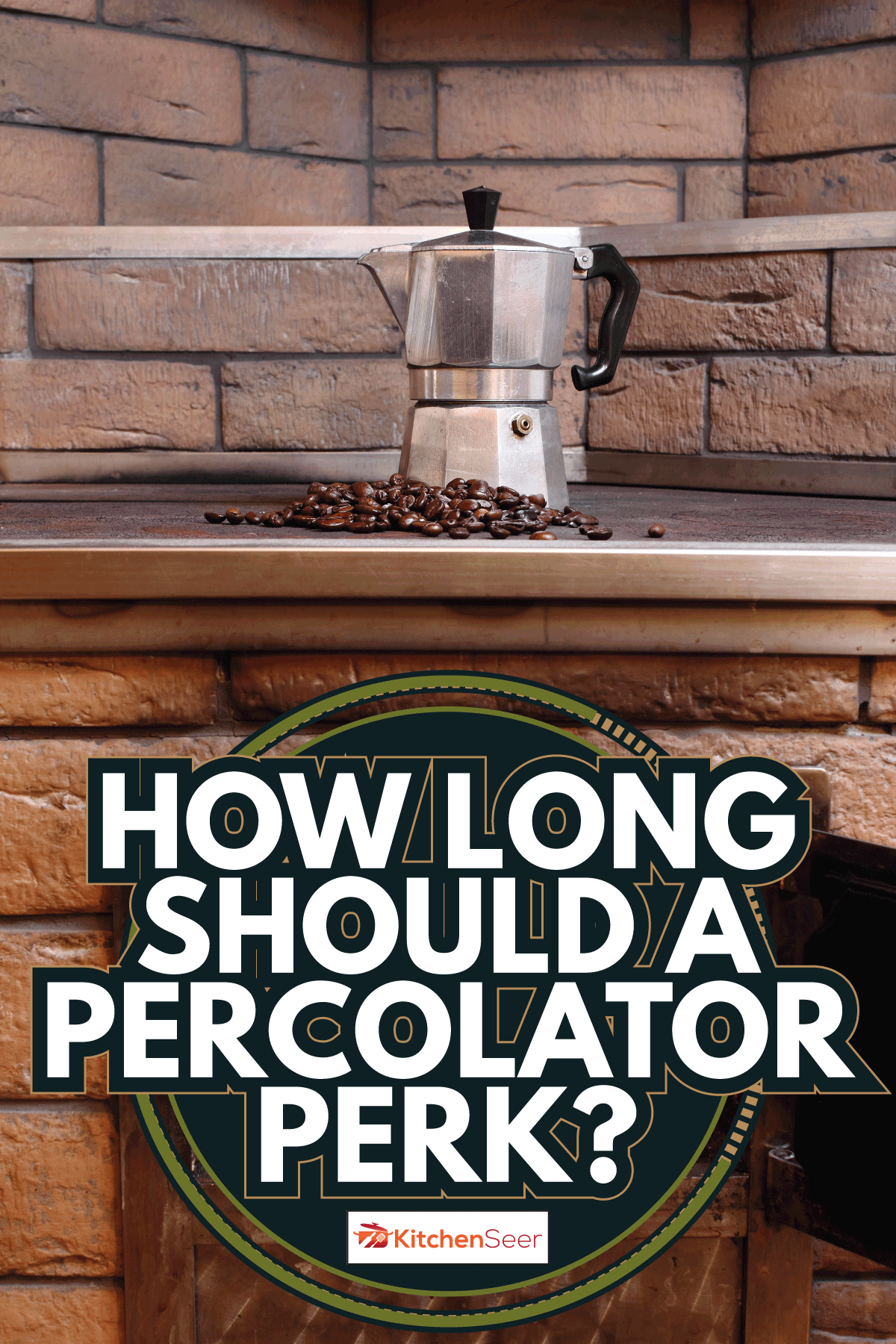 Moka pot, coffee beans and open fire in oven. How Long Should A Percolator Perk